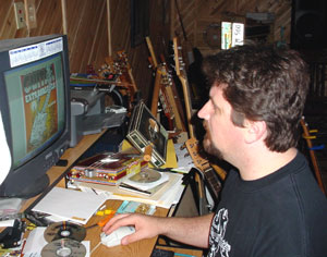 Shane Speal at computer