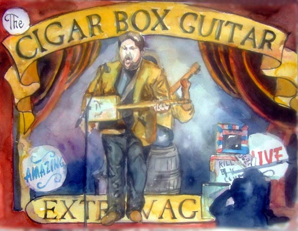 Songs Inside The Box, the cigar box guitar documentary by Max Shores