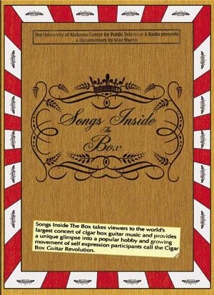 Songs Inside The Box DVD Cover
