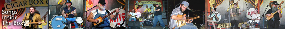 Songs Inside The Box, the cigar box guitar documentary